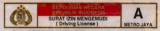 SIM Indonesia