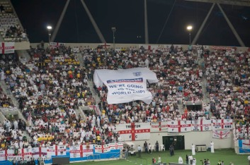 England's supporters