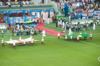 Flags parade