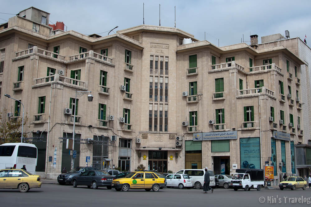 Orient Palace Hotel, Located at the busy junction