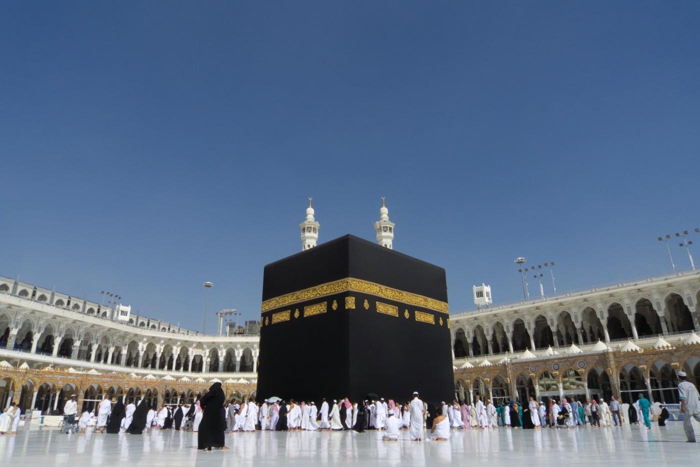 Ka'bah di Mekah. foto dari Preven blog