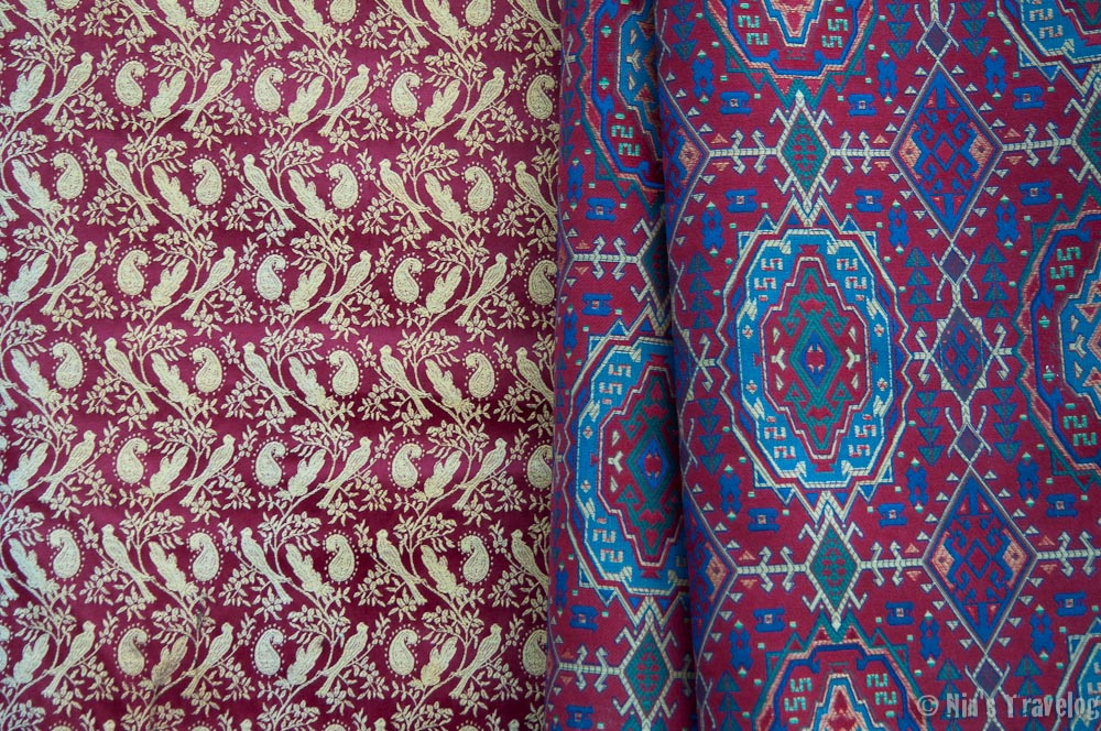 Ever heard of Damas Red? or Damas cloth? Damascus was where it is originally came from