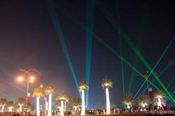 Laser works after the fireworks