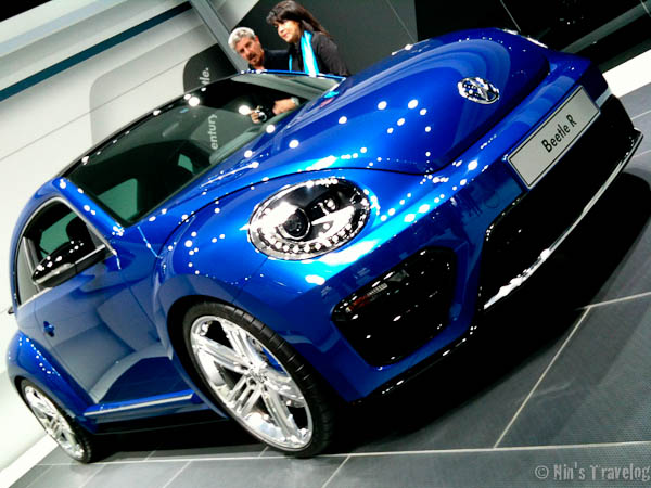 The latest VW Beetle R