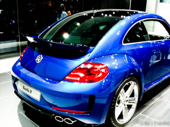 Rear view of 2012 Beetle R