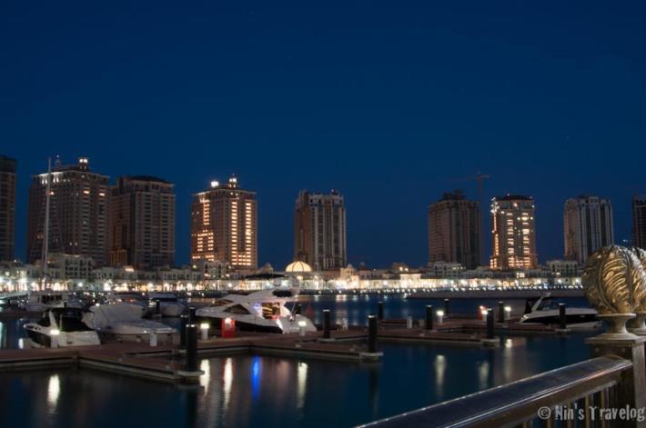 The jetty in Porto Arabia