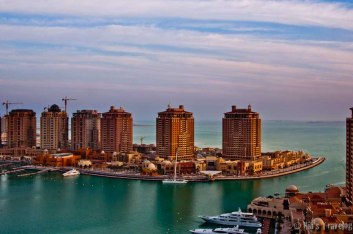 Bird eye view of Porto arabia