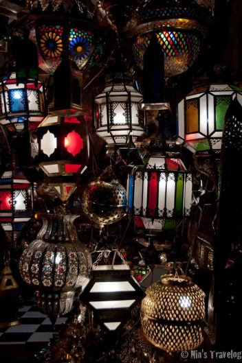 Lamp and shade