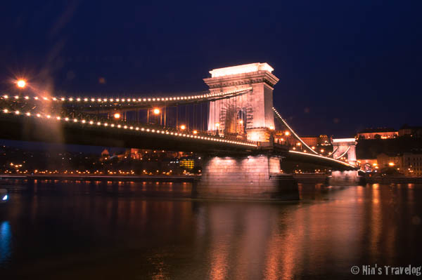 The Chain Bridge of Budapest