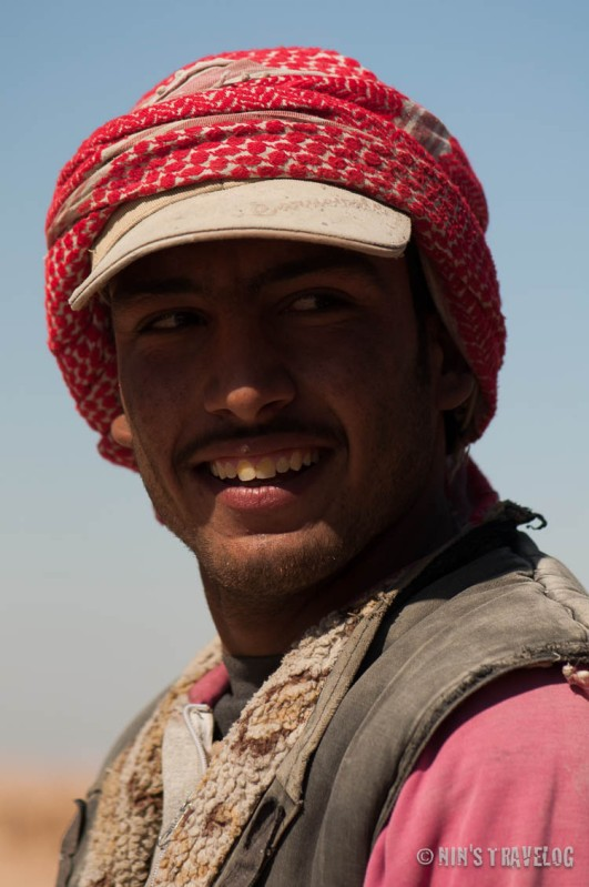 Arabs normally are shy to be photographs, but not so with this good looking man that I met in one of the historical places in the countryside of Syria