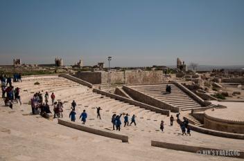 Inside the Aleppo Citadel