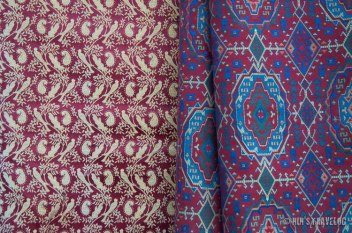 Damasq - the famous red colour of Damascus that create it's name for the colour as as well as the cloth type