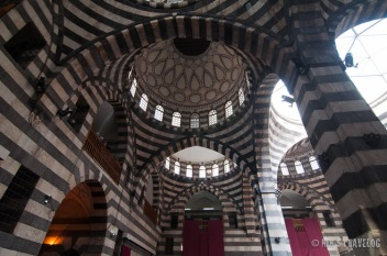 Inside Assyam Palace, in the middle of the Old City of Damascus