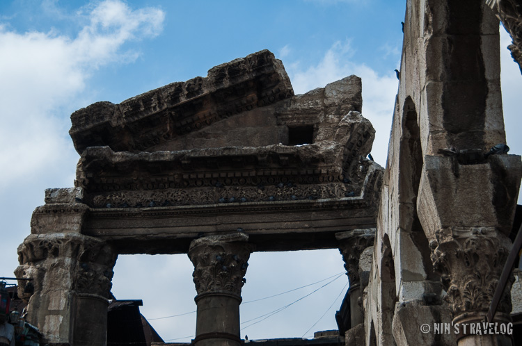 The remain of Temple of Jupiter. will this be survive during this war?