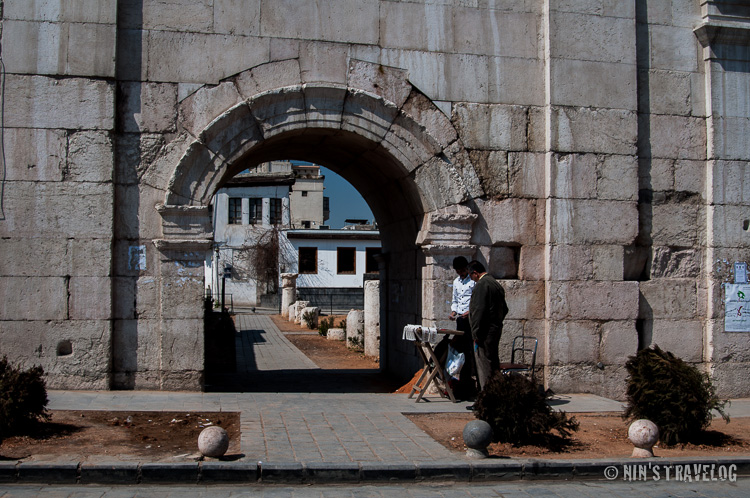Bab ass Sharqi - One of the better looking of the gate toward The Old City then