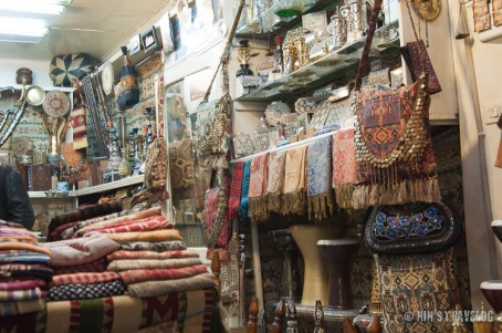 Fine fabrics and antiques from the region