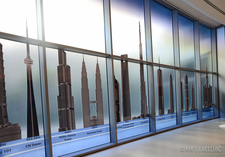 Parade of world tall buildings