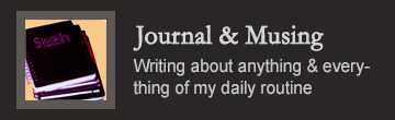 Journal and Musing