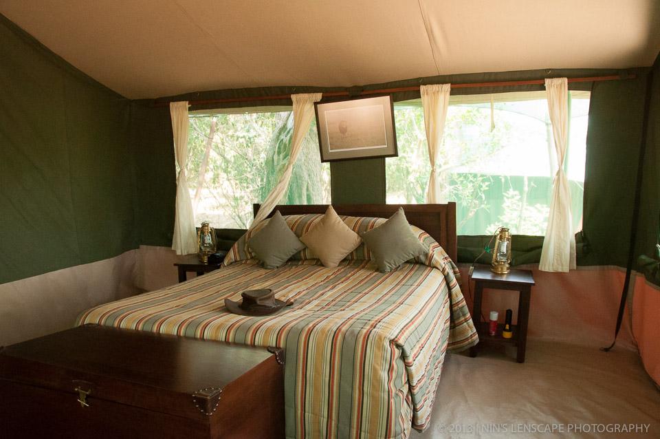 Bedroom inside the very roomy bedroom