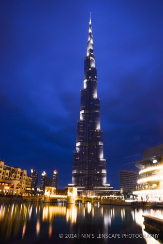 Burj Khalifa, the tallest building in the world as of today