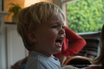 My grand son the drama king, he's good in getting attention by crying and then a minutes later he could be laughing again.