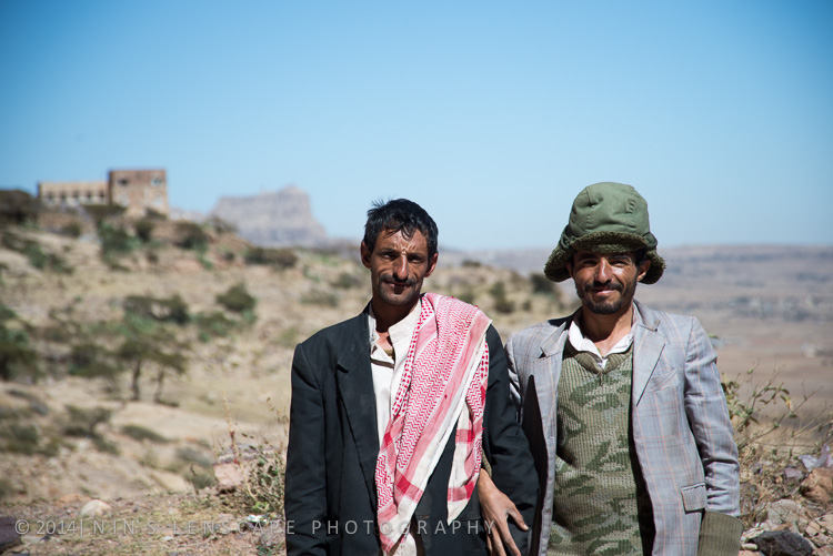 They asked me to take their picture as I walked down the hill from Shibam