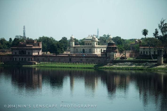 Little Taj - From the other side of the Jamuna River, a replica of Taj Mahal