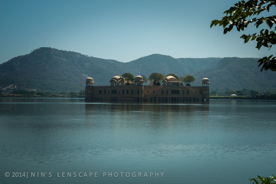 Jal Mahal - a floating Water Palace, in the middle of man made lake