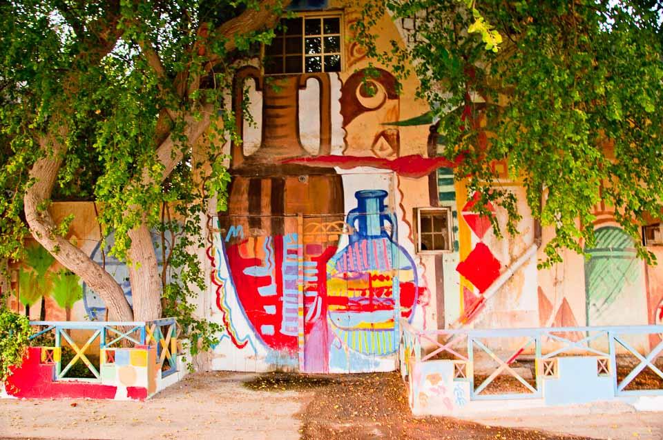 The artistic part of Bahrain - a village near Budaiya area