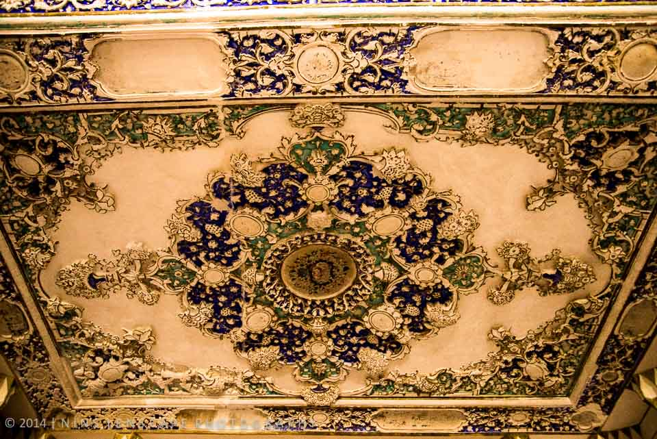 Decoration of the ceiling