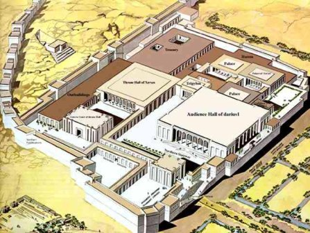 Generated perspective of Persepolis from University of Texas