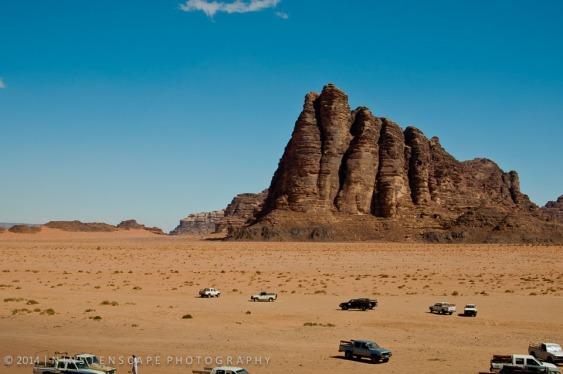 Traveling through Wadi Rum - the 7th pillars?
