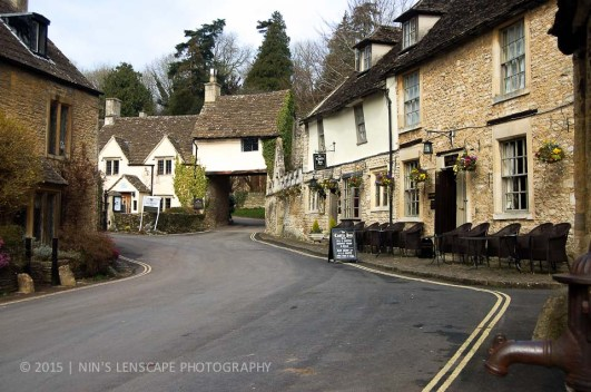 One of the many pretty villages in England