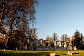 The ruins in York