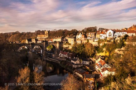 Knearsborough at golden hour