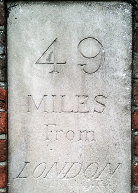 One should not only know London, as 49 miles from London, there are lots of other things to see
