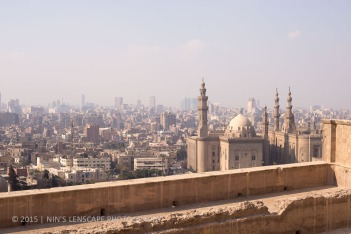 Cairo city view from the Citadel