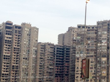 Over crowded old city of Cairo that lacked a modern touch as well as proper city planning