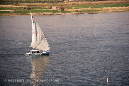 Away from the over crowded, over poluted and over populated Cairo, the River Nile maybe a better destination