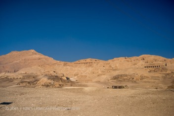 Valley of the Kings, very arid and where all the good artifacts are in museums all over the world. Not really worth a visit.