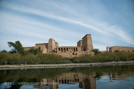 Philae Temple - located on an island in the middle of the River Nile