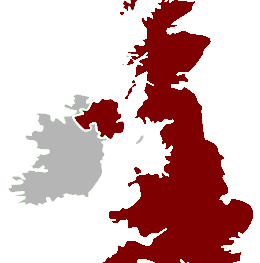 United Kingdom, which include England, Wales, Scotland and Northern Island