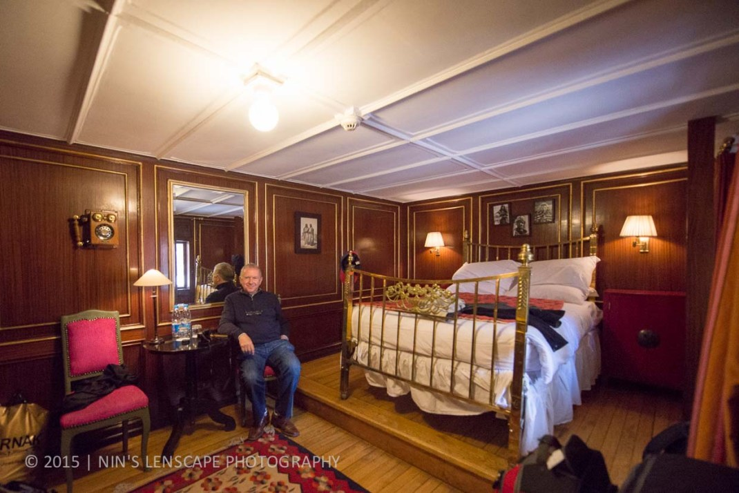Our cabin, the Gustave Flaubert room