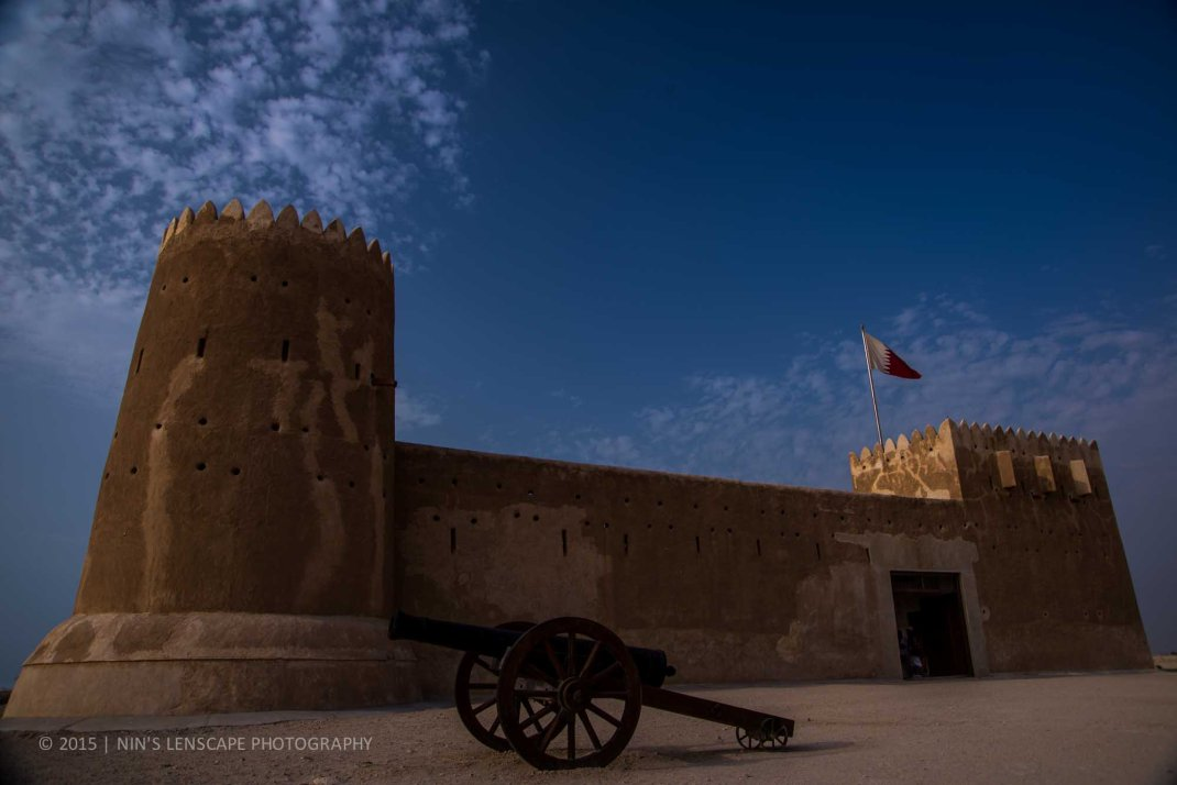 Fort of Zubara now (2015)
