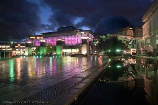 Millennium Square at night